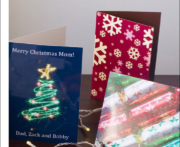 Christmas, birthday, gifted and folded cards